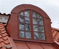 Fönster kittad spröjs