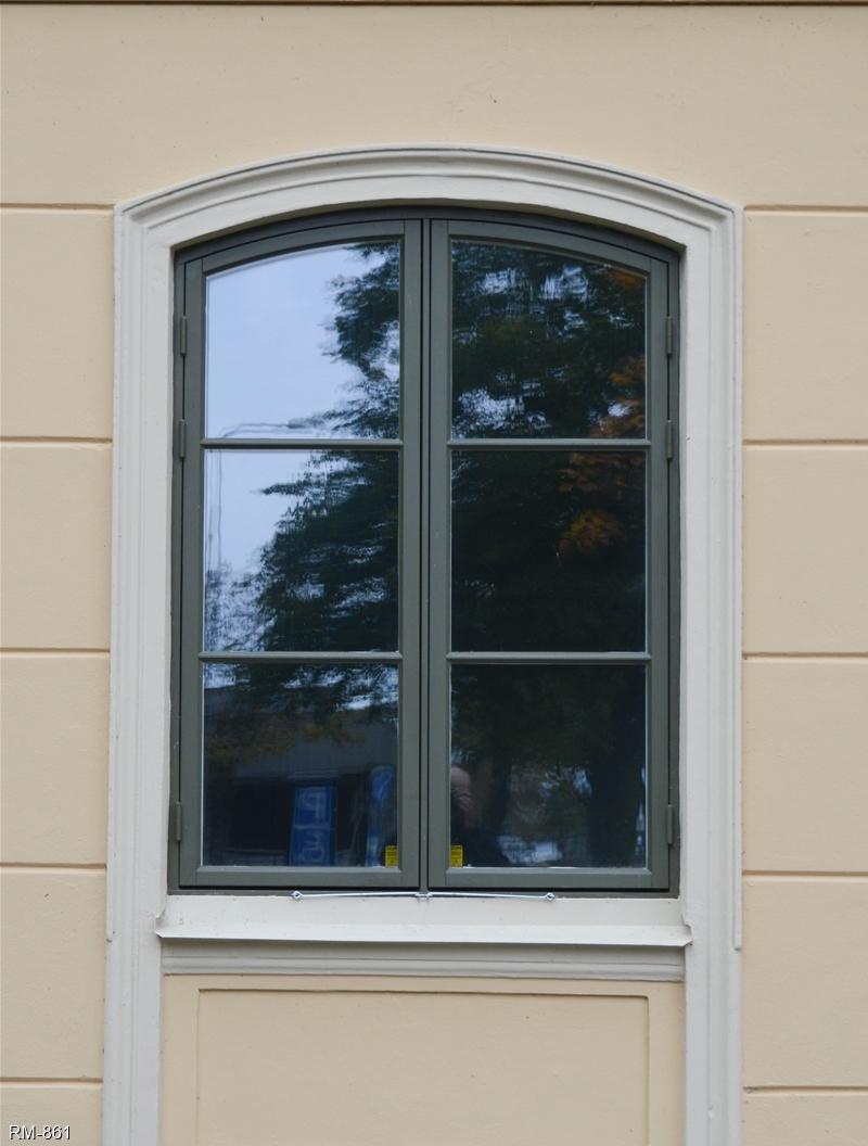 Specialfönster egen fönstertillverkning, runda och halvrunda ...